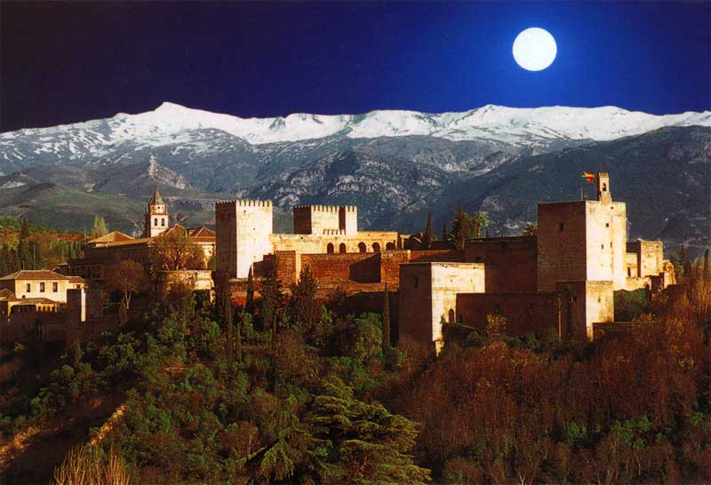 Alhambra at night copia