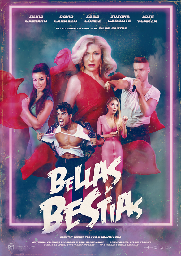 CARTEL BELLAS Y BESTIAS b