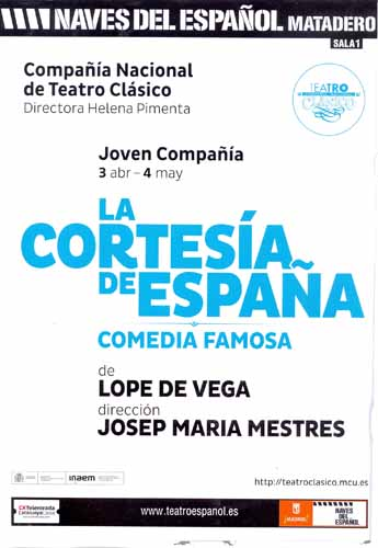 LA CORTESIA CARTEL B
