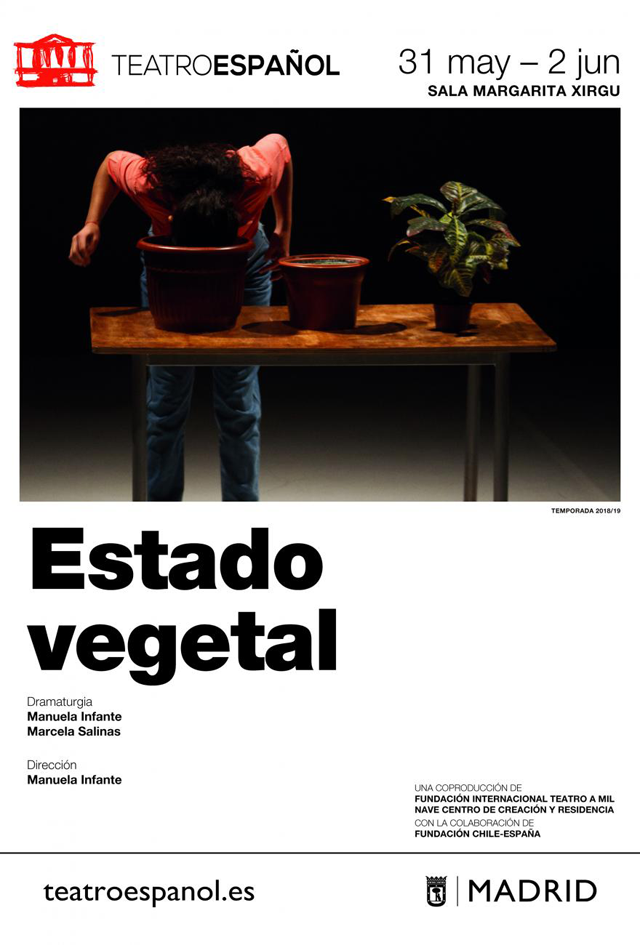 cartel ESTADO VEGETAL b
