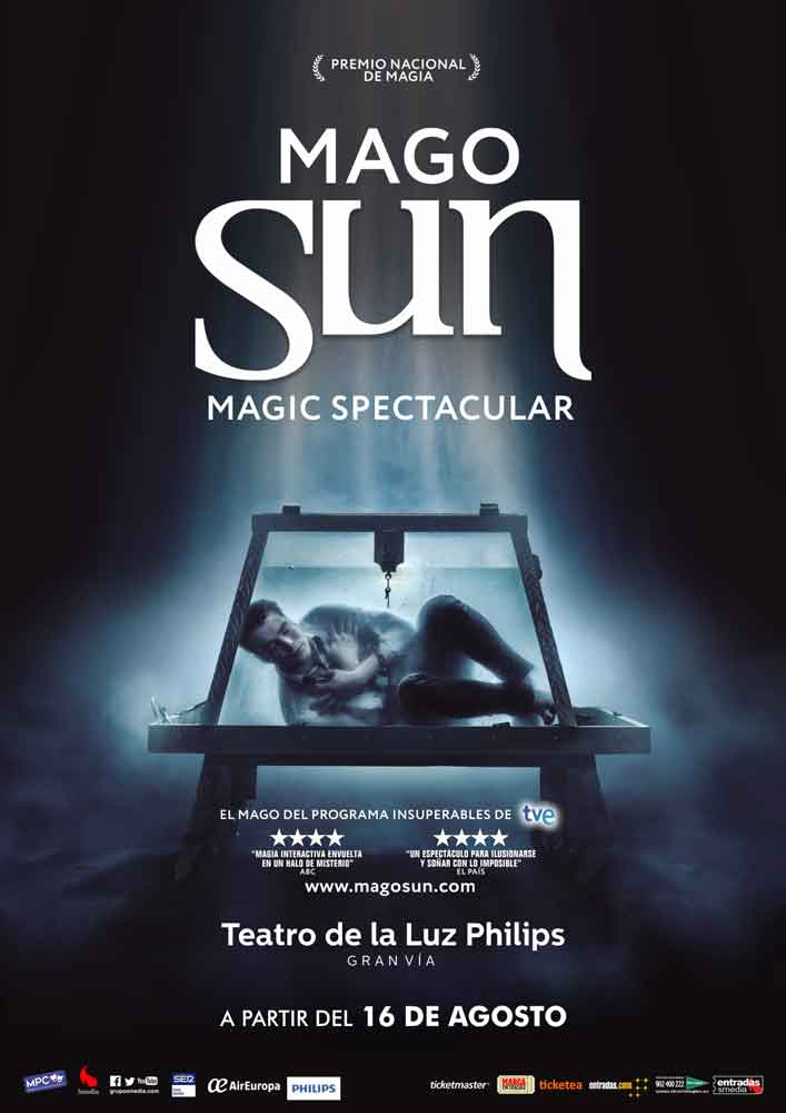magic spectacular mago sun
