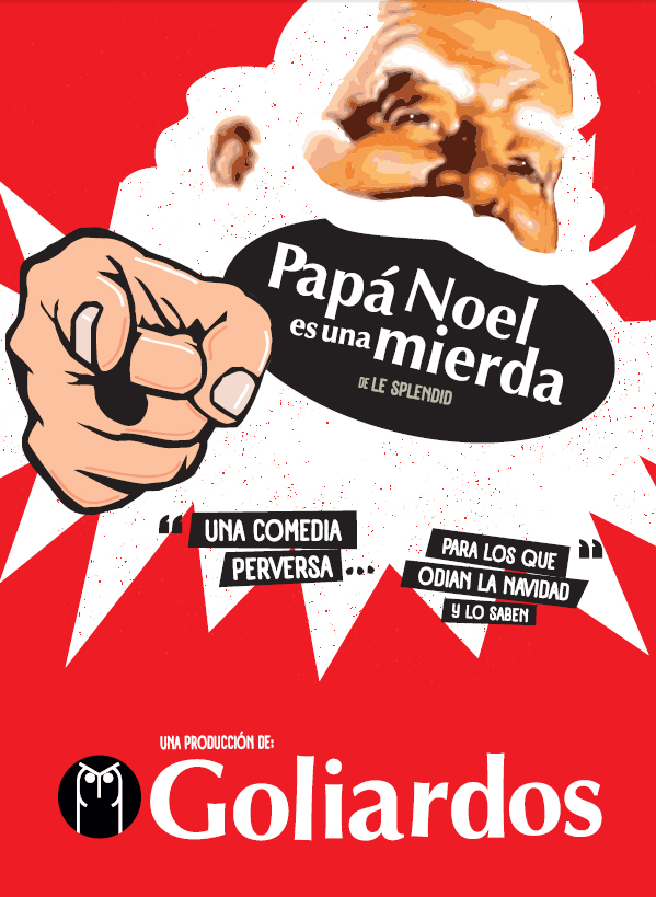 papa noel no cartel