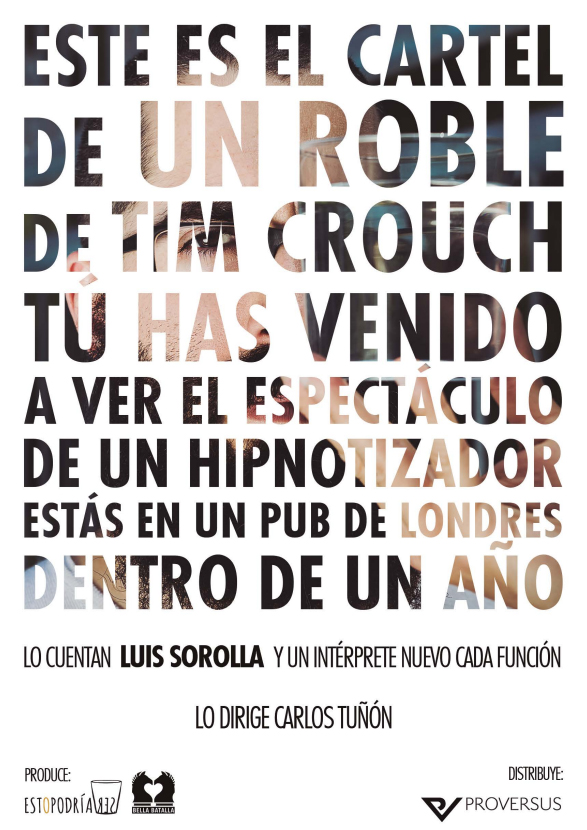 un roble cartel